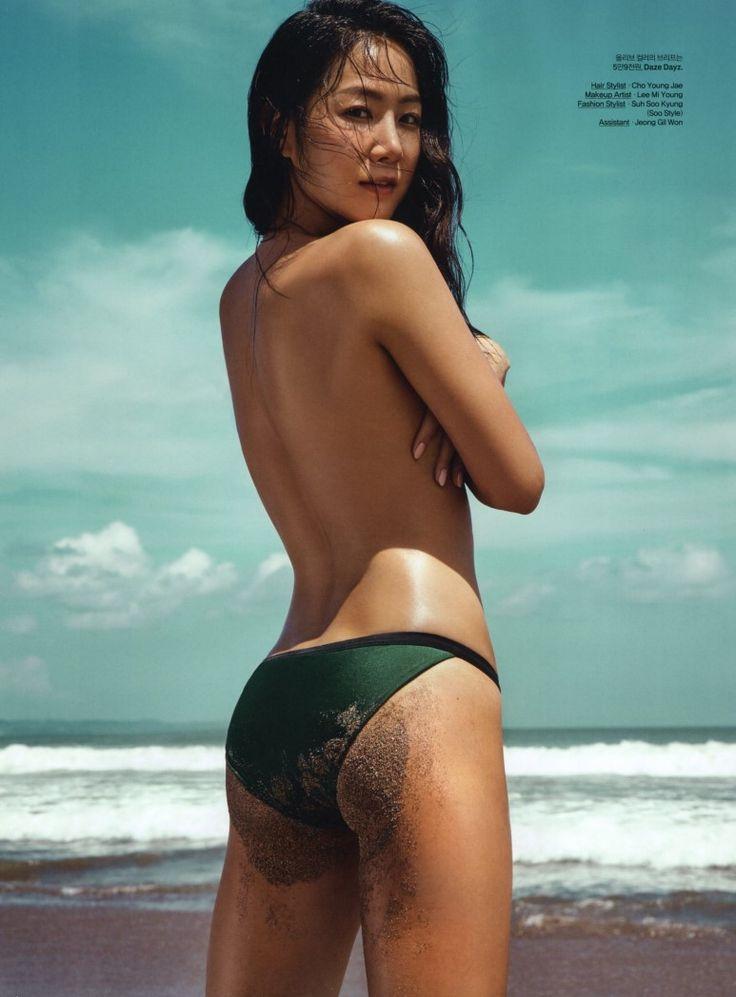 Soyu shows off her 'healthy' (yes) body in swimwear for Elle – Asian Junkie