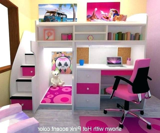 Beautiful Cute Desks For Small Rooms Ideas Awesome Cute Desks For Small Rooms Or Cute Bunk Beds With Desk F Girls Loft Bed Bed For Girls Room Bunk Bed Designs