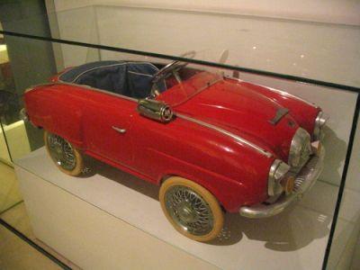Vintage pedal cars -