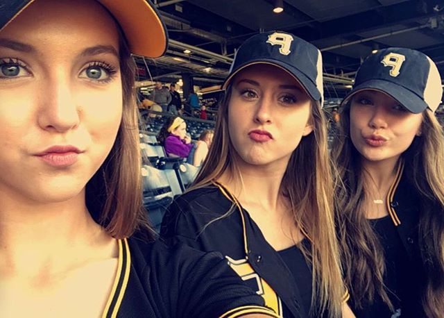 Maddie is at the Pittsburgh Pirates game with her neighbours today • #dancemoms #dancemoms1 #spoilers #dmos_ziegler