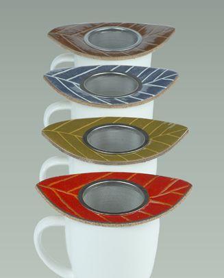 Lehti Tea Strainer | Pauliina Rundgren HandiCrafts | Design products are made in Kenkävero - Mikkeli, Finland.