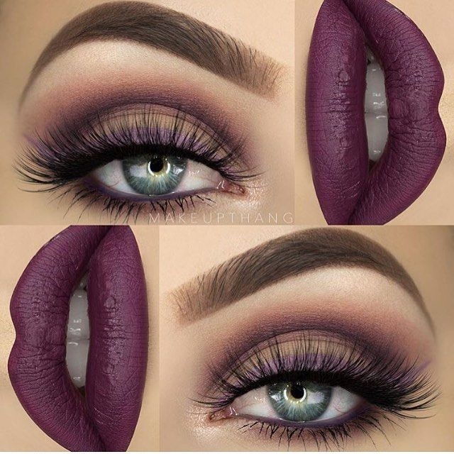 Luv everything about this!  @makeupthang   #makeup