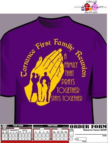 Custom Family Reunion Designs Family Reunion Shirts Ideas