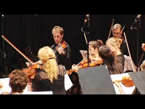 Australian Chamber Orchestra performs Grieg String Quartet (excerpt 2)