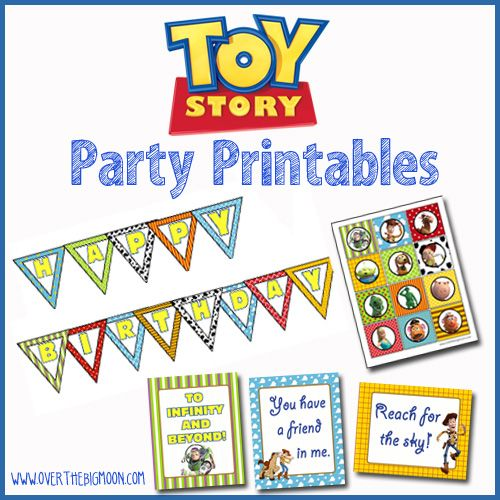 FREE Toy Story Party Printables - Bunting, 3 Printables Posters and Cupcake Toppers!: Birthday Parties, Cupcakes Toppers, Parties Printable, Imprimir Free, Parties Ideas, De Toys, 3Rd Birthday, Print, Toys Stories Parties