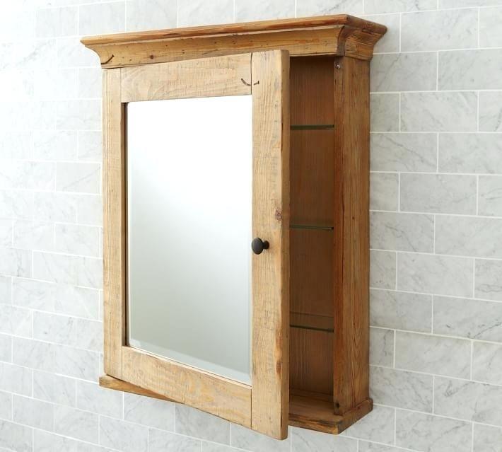 Wooden Bathroom Wall Cabinets Various Wooden Bathroom Wall