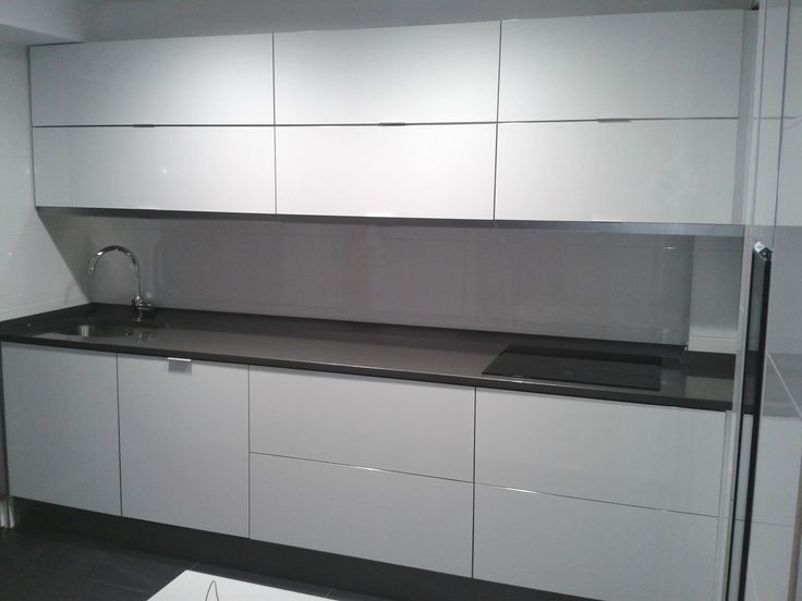 Cocina modelo ar blanco alto brillo perez vera - Cocinas blanco brillo ...