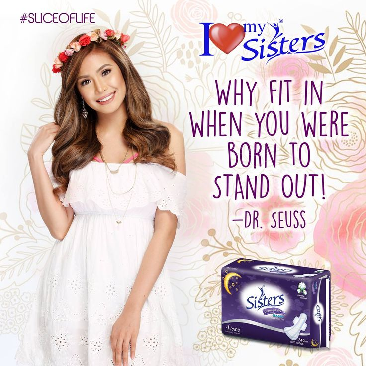 You were born to stand out! 😉 ✨ ☺ 💞 #Sistersph #WeAreOneWeAreSisters #StandProud #SliceOfLife  #ILoveMySisters #StandOut