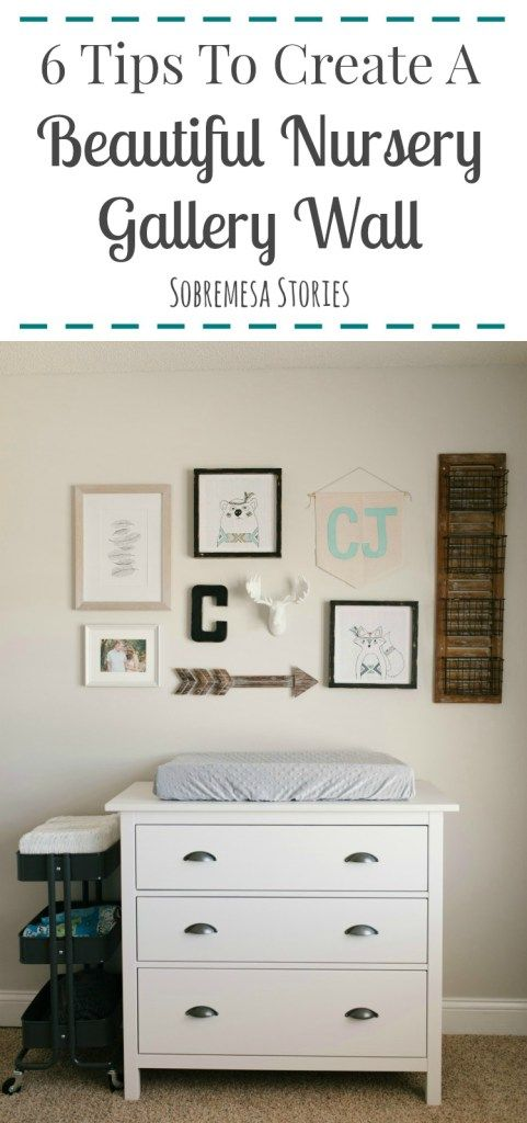 Creating a beautiful gallery wall in any room in your house is SO easy if you follow these six tips. Check them out if you're dreaming of making a balanced and fun gallery wall somewhere in your home!