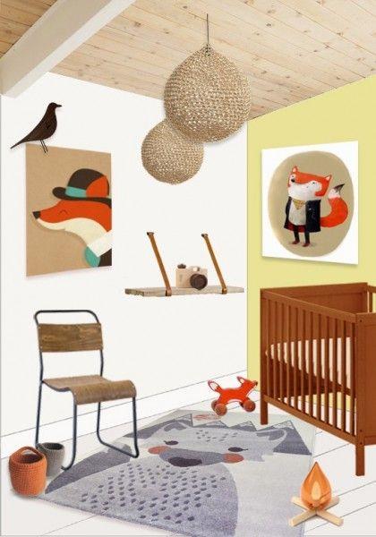 Kinderteppich Mr Fox 100x150cm In 2018 Deko Fur Kinderzimmer
