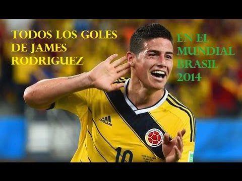 Todos los Goles de James Rodriguez en el Mundial Brasil 2014 HD de Solo ...