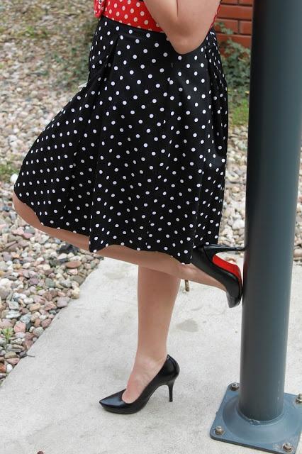 dress Mohito, shoes Kazar