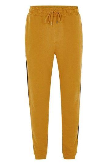 TOPMAN SIDE TAPE CLASSIC FIT JOGGER PANTS. #topman #cloth #
