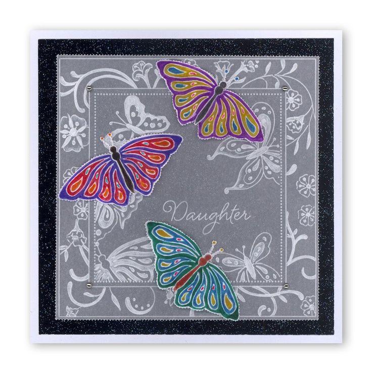 Jayne's Butterflies & Flourishes Groovi Plate Set – Claritystamp