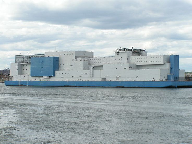 Riker's Island prison barge