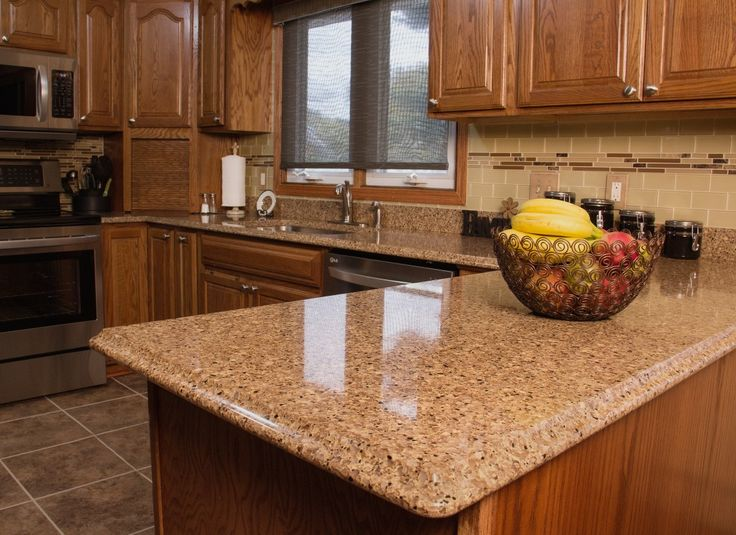 Design your dream kitchen with RiverStone Quartz Countertops! Available in  16 vibrant colors and
