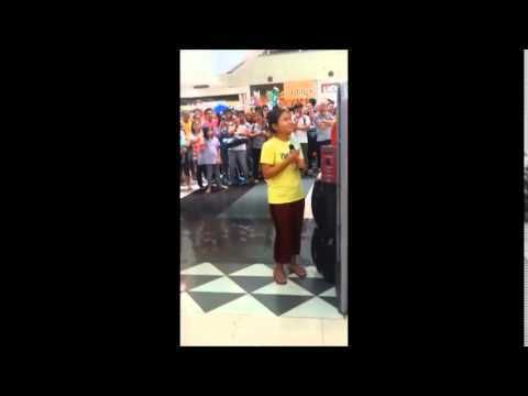 Amazing Filippine girls sings 'let it go' in Robinson mall in Manila - WATCH VIDEO HERE -> http://philippinesonline.info/travel/amazing-filippine-girls-sings-let-it-go-in-robinson-mall-in-manila/   Me and my wife met this girl in Robinson mall in Manila. Her name is Alisah Bonaobia and she sings like a dream. If there are any record compagny with a littel respect for talent, you schould really get her name in a comtract. I got her cell number 09498412135. She has a fantastic