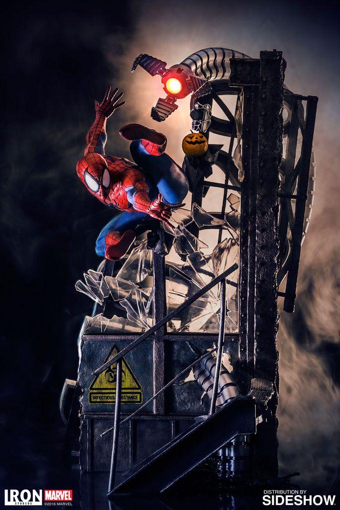 2010 年成立於巴西的新銳雕像品牌「Iron Studios」工作室又將要推出其最新的華麗雕像戰鬥場景,這次要推出的是「蜘蛛人」(Sipder-Man)的全身戰鬥場景雕像,這款作品在創意的...