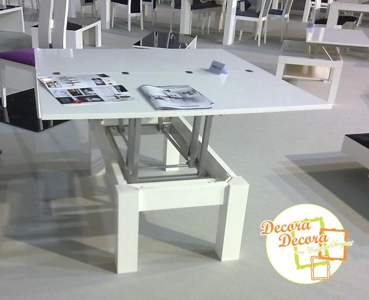 Las 25 mejores ideas sobre mesa centro elevable en for Mesa elevable y extensible