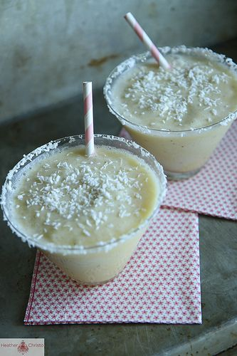 Frozen Banana Coconut Daquiri