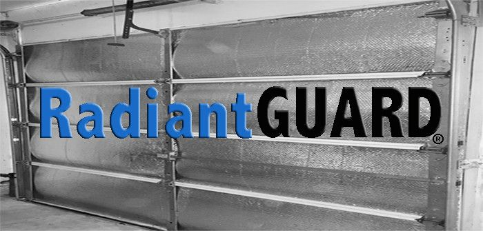 Garage Door Insulation Kit from RadiantGUARD® - Blocks unwanted heat gain and heat loss in your garage year round lowering your utility bills.