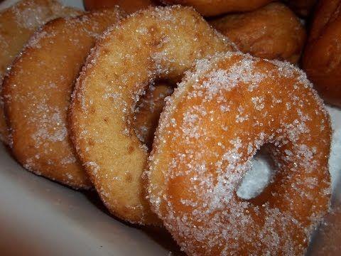 ΛΟΥΚΟΥΜΑΔΕΣ (donuts) ΠΑΡΑΛΙΑΣ - Συνταγή - YouTube