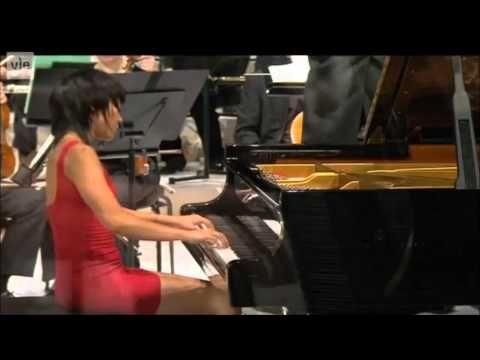 Tchaikovsky Piano Concerto No. 1 (Op. 23) Yuja Wang (piano) Hannu Lintu (conductor) Finnish Radio Symphony Orchestra Helsinki Music Centre Concert Hall (7 Se...
