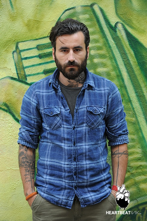 """www.heartbeatink.gr George Mavridis - Tattooligans Photo: Ino Mei   """"An expert on realistic tattoos and globally recognized, George Mavridis gave HeartbeatInk an exclusive interview about his career and the art of the tattoo"""""""