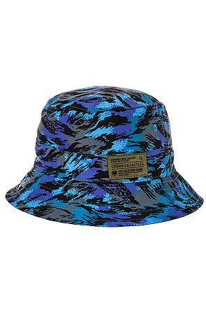The Cerulean Bucket Hat in Cerulean Camo by Crooks and Castles