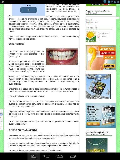 Receita branqueamento dentes natural