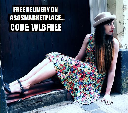 Receive free delivery from With Love Betty on #asosmarketplace using code WLBFREE until mon 12th Aug