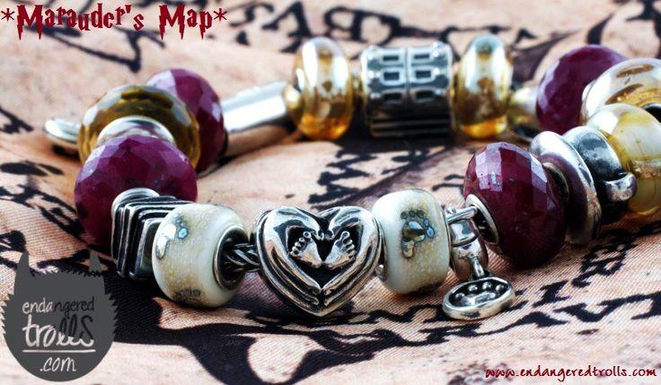 Marauder's Map Bracelet