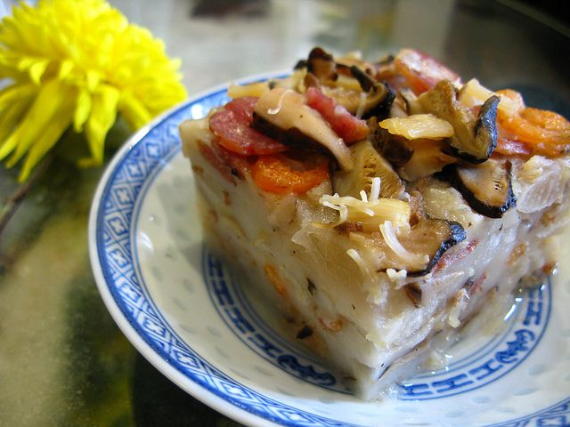 Chinese New Year Radish Cake by The Hong Kong Cookery, via Flickr