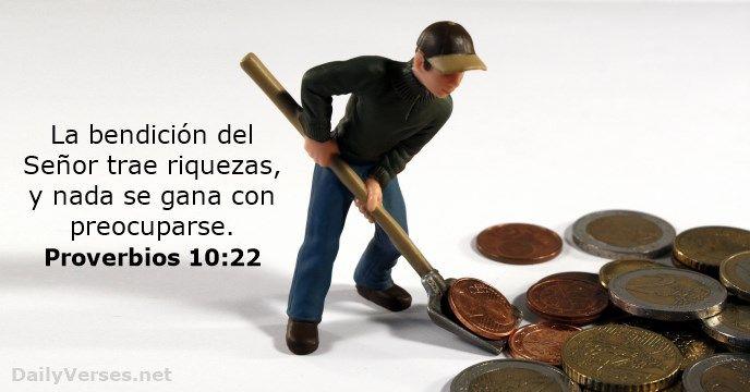 proverbios 10:22