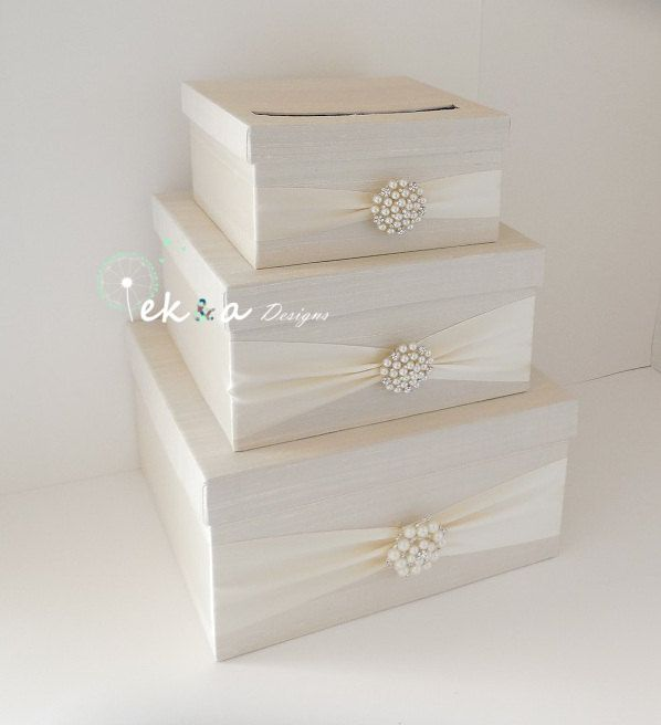Wedding card box holder / wedding money box / by eshepDesigns, $118.00