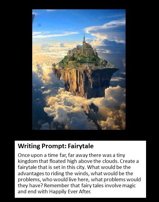 Writing Prompt: Writing a Fairytale