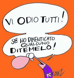 Massimo Cavezzali: Cavezzali: Vi odio tutti...