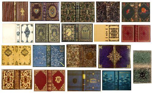 Miniature Printables - Mini Books #1 Collection of miniature book ...