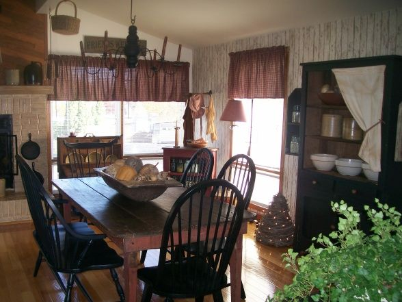 *NEW* Primitive Dining Room, Dining Rooms Design