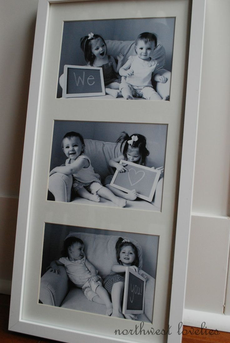 69 best framing ideas images on pinterest home ideas picture how adorable capture their little smiles and special message in a multi opening mat jeuxipadfo Choice Image