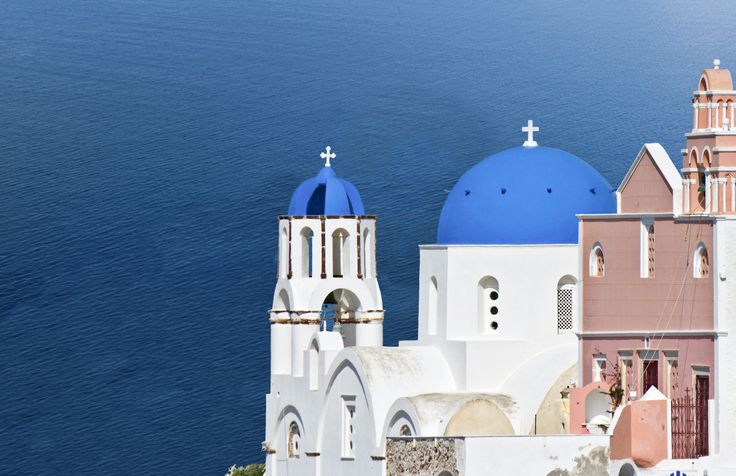 Santorini and its churches