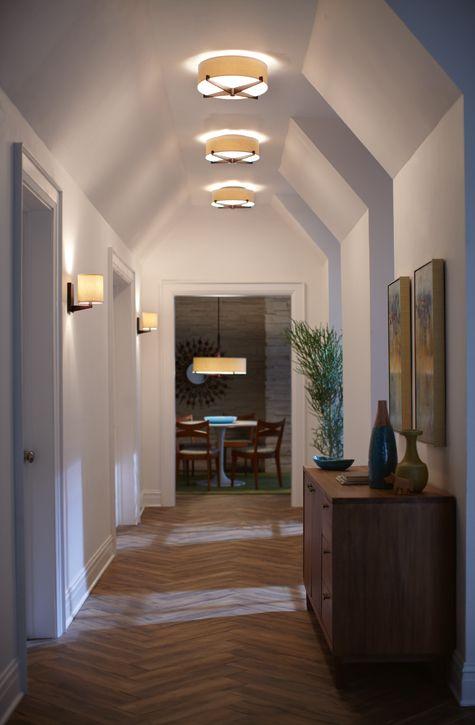 Lighting Basement Washroom Stairs: 40 Best Hallway Lighting Inspiration Images On Pinterest