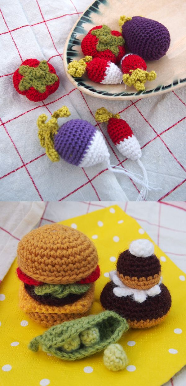 Tuto Amigurumi Fruit : 1000 idees sur le theme Cupcake Au Crochet sur Pinterest ...