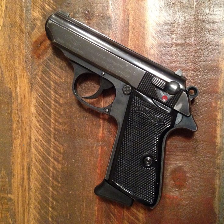 Vintage Walther PPK/S 9mm Kurz (.380 ACP), circa 1972.