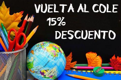 Consigue tus productos de Vuelta al cole con un 15% de descuento hasta el próximo día 17 o fin de existencias. Entra en ww.mercerialluviadeideas.com/vuelta-al-cole y ahorra con Lluvia de Ideas :) #vueltaalcole #cole #mochila #marcadores #mandilón #bata #guardería #libros #niños #septiembre #descuento #ahorro #kids #estudiar #baberos #pizarra #estuches