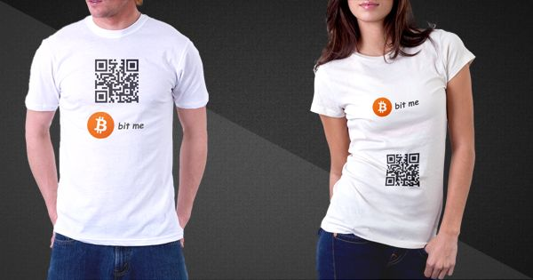 QR code enabled T-Shirts in India!