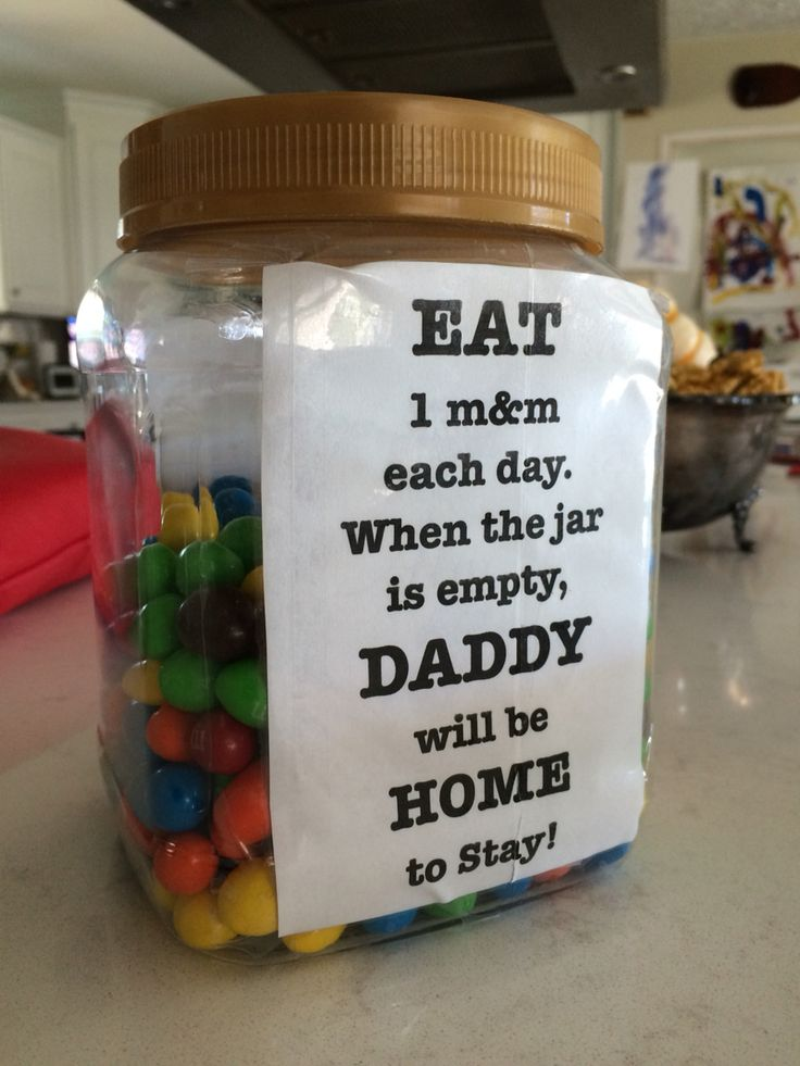 Deployment Countdown Jar