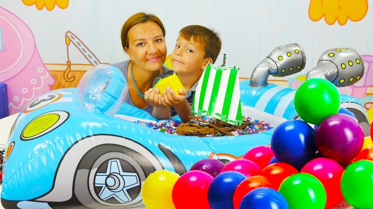 Видео для детей: Мальчик Селим и океан знаний. Видео с шариками ОРБИЗ (O...