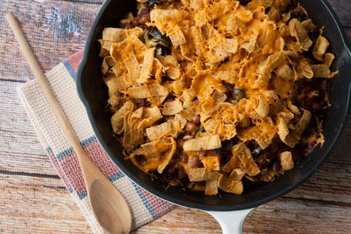 Chili Corn Chip Casserole