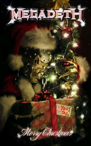 Megadeth Christmas Heavy Metal Memes. https://www.tsu.co/eatnails http://eatnails.com